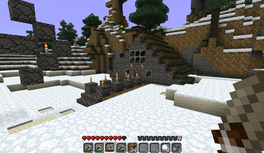 how to find your way back home in minecraft