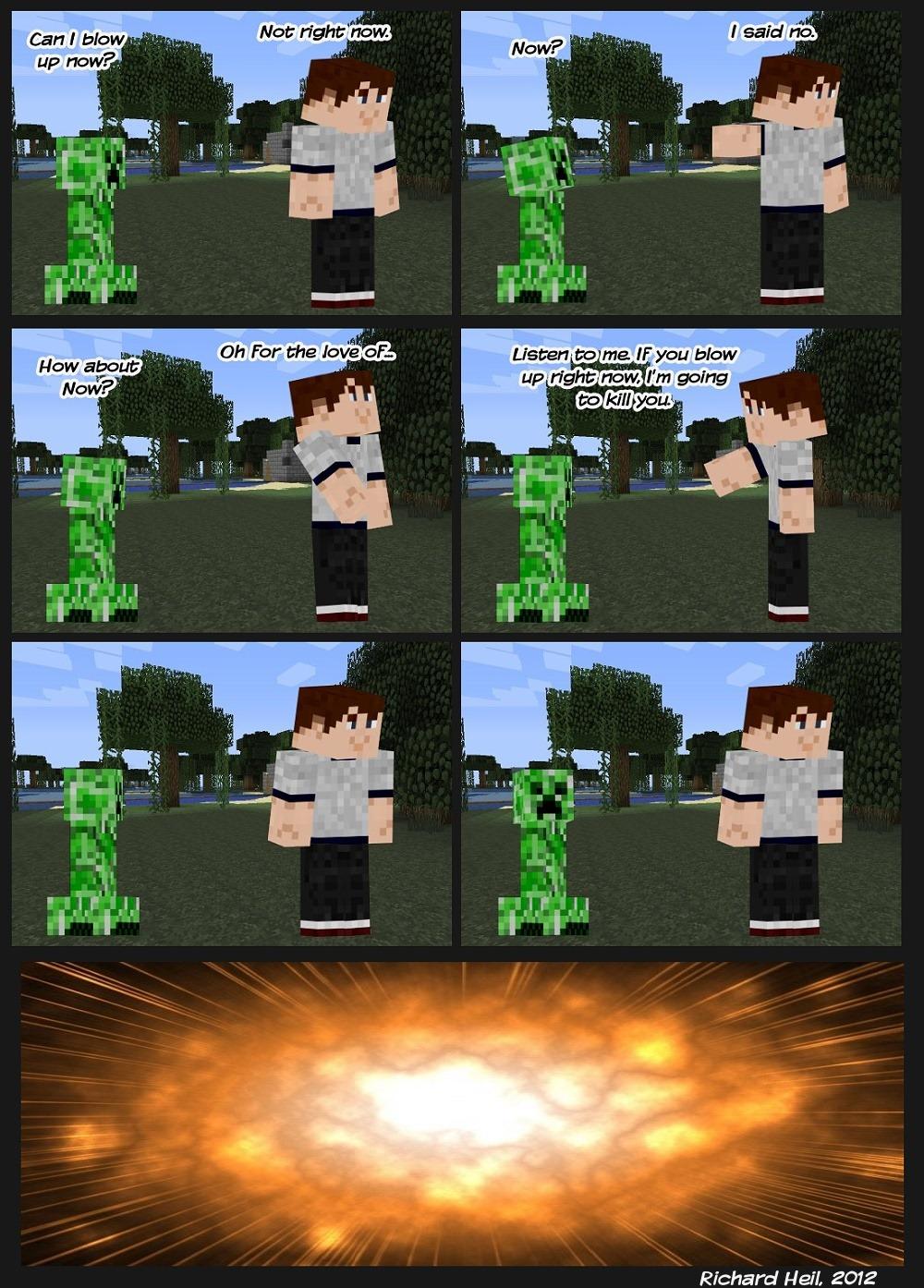 Minecraft Creeper Deepthroat  XVIDEOSCOM