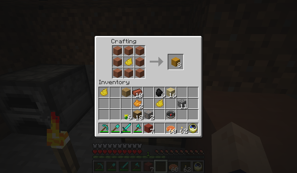 How to make a dye in Minecraft 81