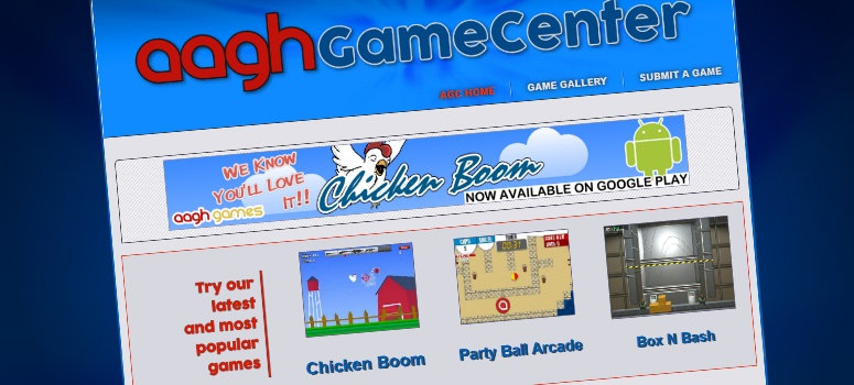 Play free games on AAGH GameCenter